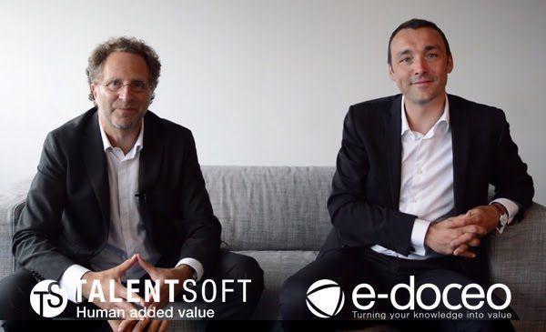 e-doceo y Talentsoft se unen para reforzar su liderazgo internacional en gestión del talento