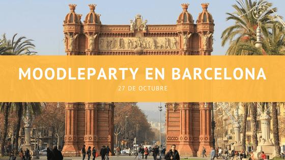 MoodleParty en Barcelona, 27 de octubre