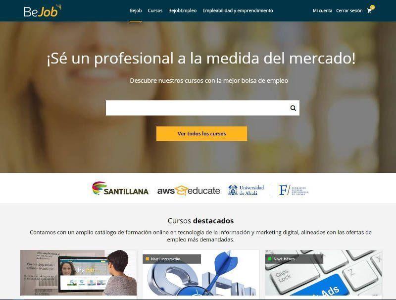 Bejob, formación en línea para la empleabilidad digital