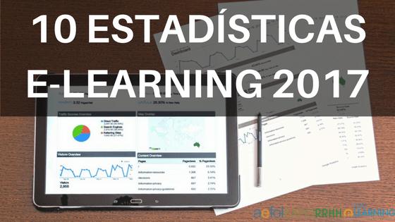 10 estadísticas destacadas sobre e-Learning en el 2017