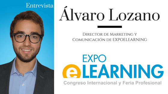 LearningLovers entrevista a Álvaro Lozano, director de marketing de AEFOL & EXPOELEARNING