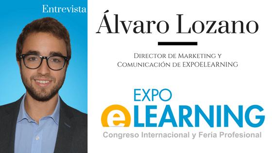 LearningLovers entrevista a Álvaro Lozano, director de marketing de AEFOL & EXPOELEARNING
