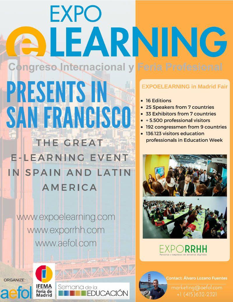 AEFOL presenta EXPOELEARNING en San Francisco