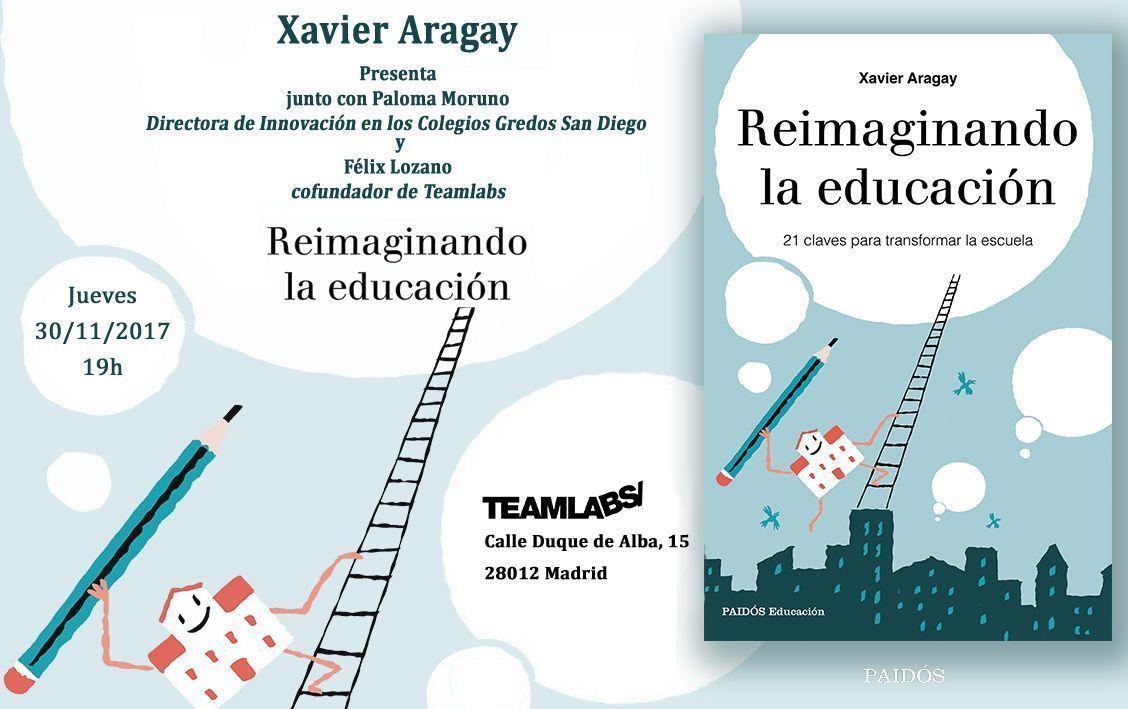 Presentación del libro de Xavier Aragay el 30 de noviembre en Madrid