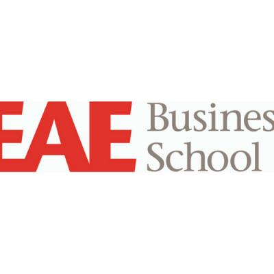 logo de eae business school en su participación en la feria EXPOELEARNING