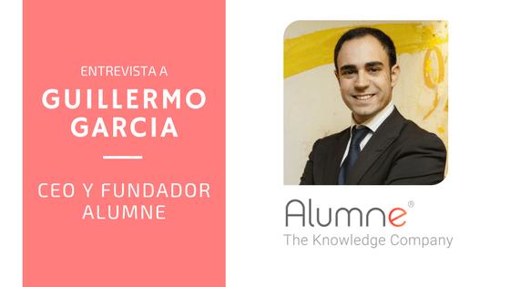 Entrevista Guillermo García CEO y fundador de Alumne, empresa expositora EXPOELEARNING