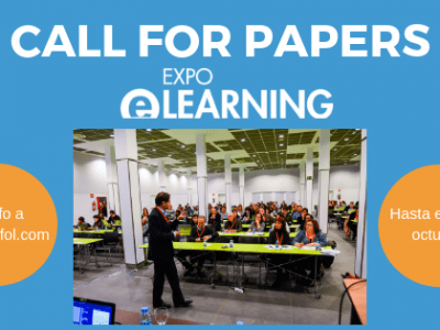 Apertura Call For Papers para EXPOELEARNING 2019