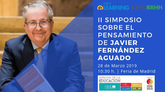 EXPOELEARNING acogerá el II Simposio sobre Javier Fernández Aguado
