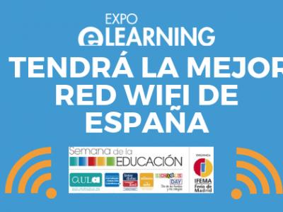 EXPOELEARNING tendrá la mejor red WIFI de España
