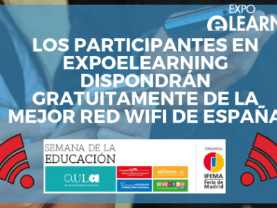 Los participantes en EXPOELEARNING dispondrán gratuitamente de la mejor red wifi de España