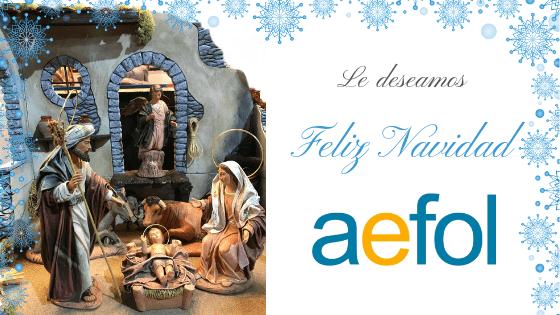 El equipo AEFOL le desea Feliz Navidad 