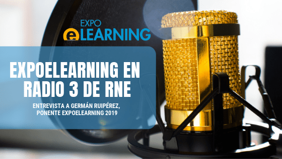 EXPOELEARNING 2019 en Radio 3 de RNE