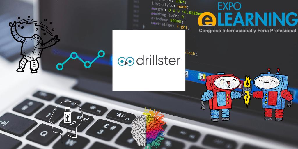 Drillster, expositor de  EXPOELEARNING 2019, Presentará su plataforma de  E-LEARNING de aprendizaje continuo, que combina Neurociencia, Inteligencia Artificial y Big Data.
