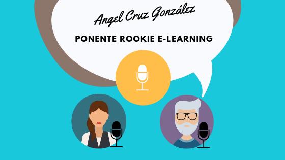 Angel Cruz, el rookie del e-learning