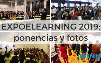 EXPOELEARNING 2019: ponencias, fotos y vídeos