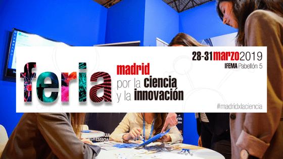 MADRID POR LA CIENCIA Y LA INNOVACIÓN 2019 concluyó con gran éxito de asistencia dentro de la SEMANA DE LA EDUCACIÓN