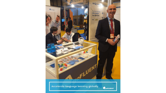 goFLUENT presentó en EXPOELERNING sus soluciones digitales de formación en idiomas