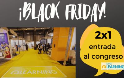 EXPOELEARNING-2020 : Oferta especial 2×1 exclusiva en el Black Friday y Cyber Monday