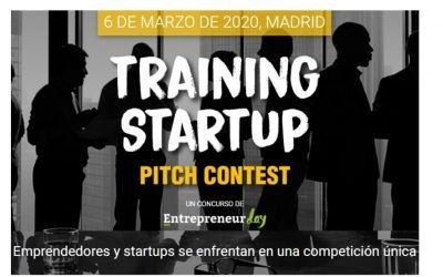 El Training Startup Pitch Contest, una competición única en EXPOELEARNING-2020