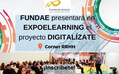 FUNDAE presentará en EXPOELEARNING el proyecto DIGITALÍZATE