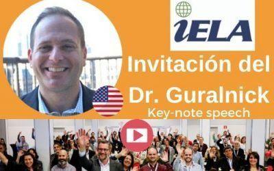 Invitación del Dr. Guralnick a participar en el Congreso Internacional EXPOELEARNING