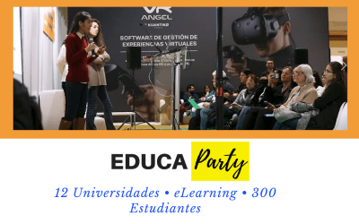 Vídeo actividad EDUCAPARTY en EXPOELEARNING