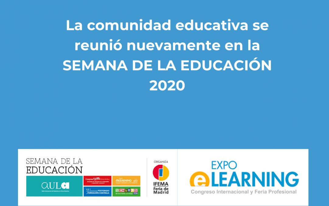 La comunidad educativa se reunió nuevamente en la SEMANA DE LA EDUCACIÓN 2020