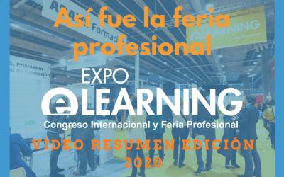 Vídeo Resumen de la Feria Profesional EXPOELEARNING 2020